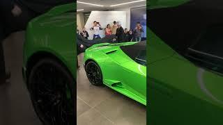 Lamborghini Huracan Evo spider in Auckland