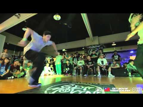 Hip Hop Best4-1 小莊 VS 阿Ben | 20170518 Get Moving 2014 Taiwan Qualifier
