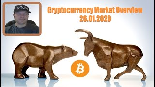Cryptocurrency Market Overview (EN) | 26.01.2020 by @cryptospa