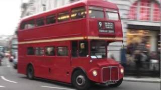 London Routemaster Bus Action (Part 1)