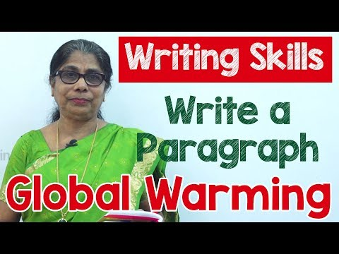 How to Write a Paragraph about Global Warming in English - Composition Writing - Reading Skills - 동영상