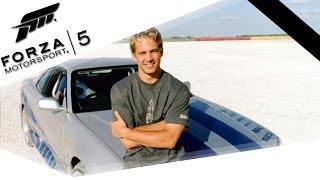 FORZA MOTORSPORT 5 Special - PAUL WALKER TRIBUTE (FullHD) / Lets Play Forza 5