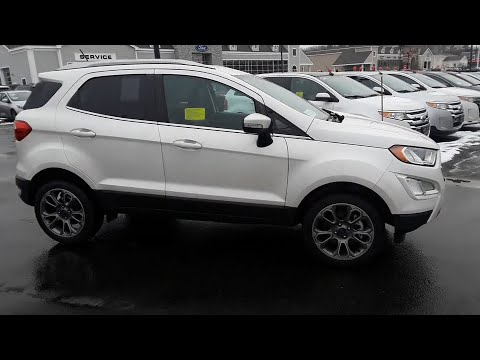 2018 Ford EcoSport Milford, Franklin, Worcester, Framingham MA, Providence, RI T8278
