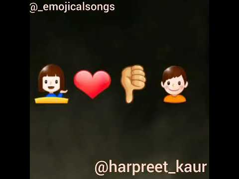 || Dil Tutda || Jassie Gill || Punjabi Song || Emoji Video ||
