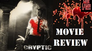 CRYPTIC ( 2014 Ed Stoppard ) Gangster Horror Movie Review