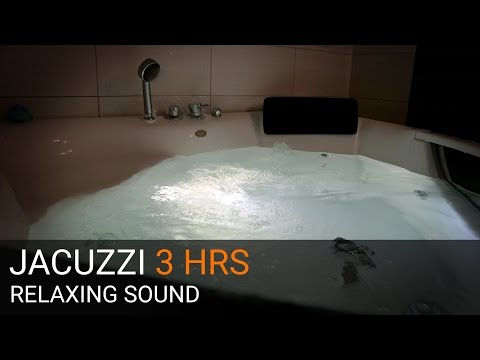 JACUZZI - RELAXING SOUND & VIDEO - 3 HRS + Underwater shot
