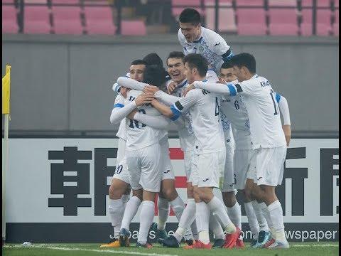 Video: U23 Nhật Bản vs U23 Uzbekistan