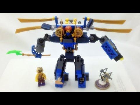 레고 닌자고 제이의 일렉트로메크 로봇 머신 LEGO Nijago 70754 Electro Mech 조립과 스톱모션