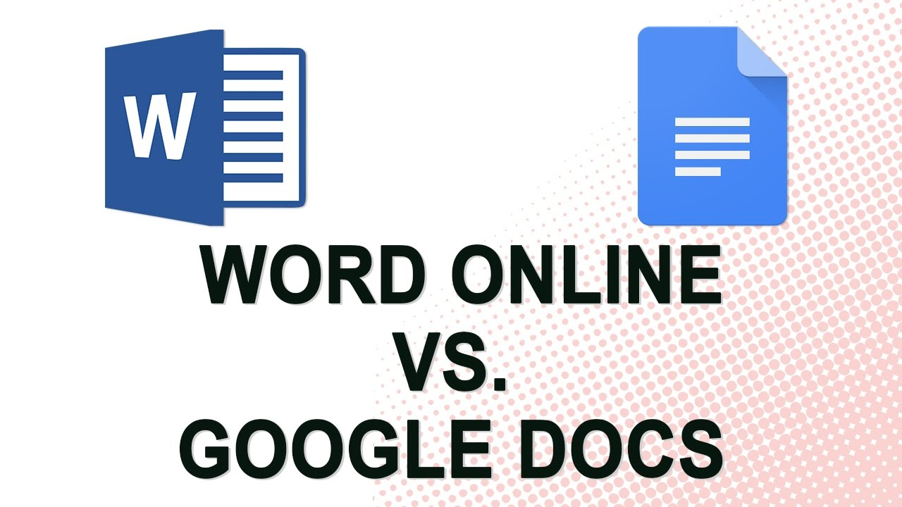 Word Online vs. Google Docs (NO YOUTUBE ADS) - YouTube