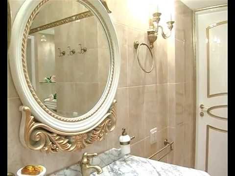Классический стиль ванной комнаты.mpg
