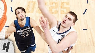 Minnesota Timberwolves vs Denver Nuggets - Full Highlights | April 10, 2019 | 2018-19 NBA Season