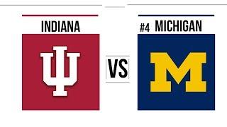 Week 12 2018 Indiana vs #4 Michigan Full Game Higlights