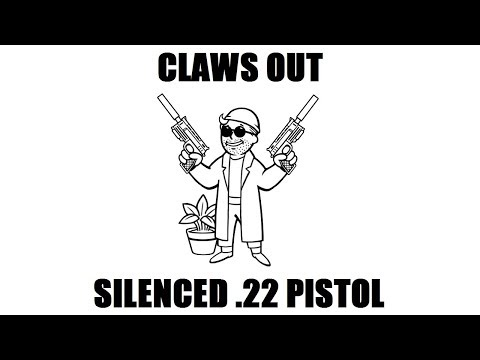 Fallout New Vegas: Claws Out (Level 50 Silenced .22 Pistol build)