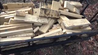 Huge Wood Haul For The Off Grid Project ™ And Tiny House