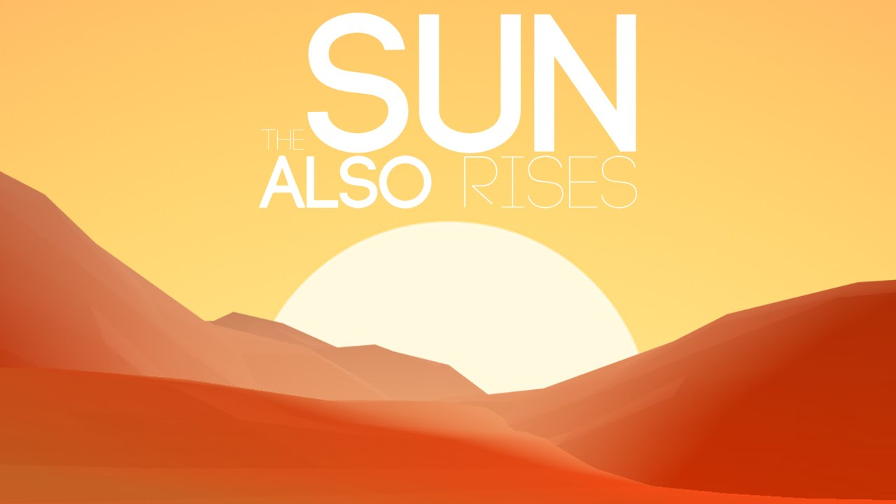 an analysis of the sun also rises appreciation The sun also rises is a 1957 film adaptation of the ernest hemingway novel of  the same name directed by henry king the screenplay was written by peter.