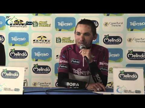 Giro del Trentino 2015: Cesare Benedetti's press conference