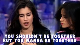 camila & lauren talking about camren for 5 minutes straight