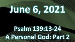 6/6/2021 Pastor Sparky