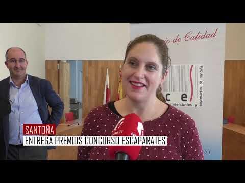 Entregados los premios del concurso de escaparates de navidad de Santoña