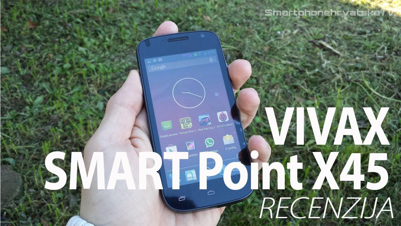 vivax smart point x45 recenzija youtube. Black Bedroom Furniture Sets. Home Design Ideas