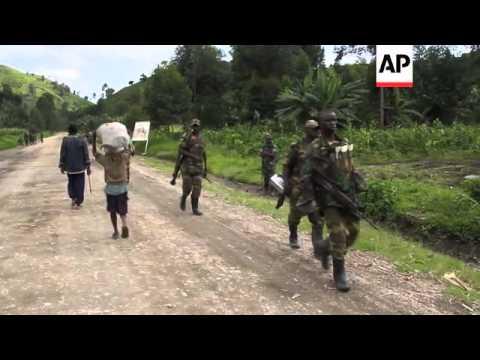 M23 rebels begin withdrawing from captured territories