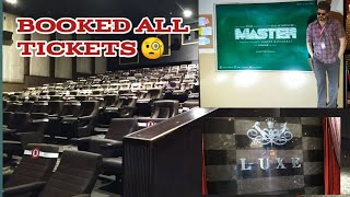 Booked all tickets | Pheonix Mall | Suganya Gowri #master
