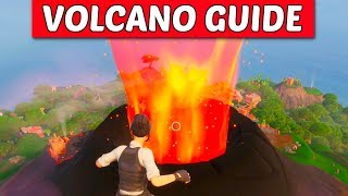 "Fortnite - How to Erupt the Volcano Early Guide ""Glitch"" (Season 9 Event)"