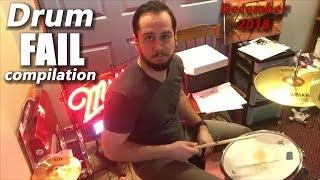 Drum FAIL compilation December 2018 | RockStar FAIL