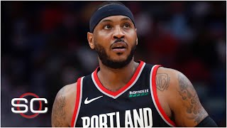 Breaking down Carmelo Anthony's Trail Blazers debut | SportsCenter