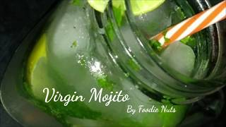 Virgin Mojito    Summer Special Drinks- Foodie Nuts
