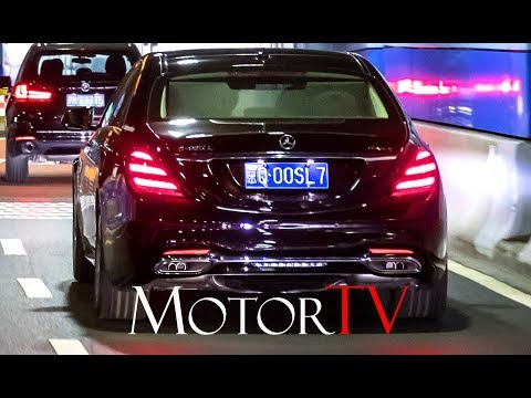 2018 MERCEDES-BENZ S CLASS l INTELLIGENT WORLD DRIVE l SHANGHAI l Clip (ENG)