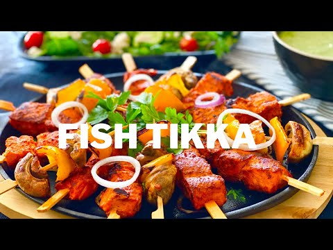 Fish Tikka Recipe | How To Make Easy And Quick Restaurant Style Fish Tikka At Home