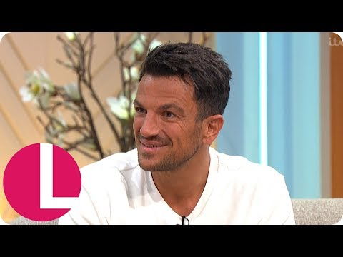 Peter Andre Discusses Family Life and Protecting His Kids From the Tabloids | Lorraine