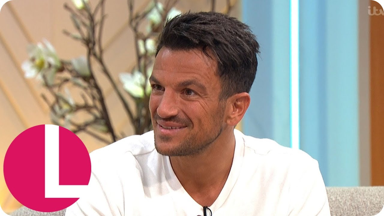 Peter Andre Discusses Family Life And Protecting His Kids From The Tabloids Lorraine Youtube