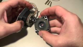 А что внутри :) Шаговый двигатель в качестве генератора для ветряка. Подойдет ли?  ZikValera