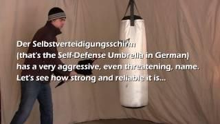 Self-Defense Umbrella versus The Unbreakable® Umbrella--Le Parapluie Incassable pour Self-Défense