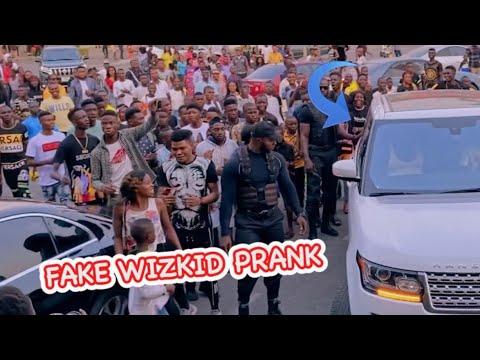 Zfancy Tv - Fake Wizkid Prank Mp4 & 3GP