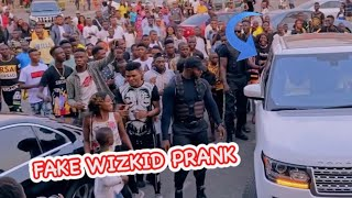 Watch this hilarious fake Wizkid prank