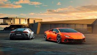 The all new 2019 Lamborghini urus & Lamborghini Huracán show in Bangkok