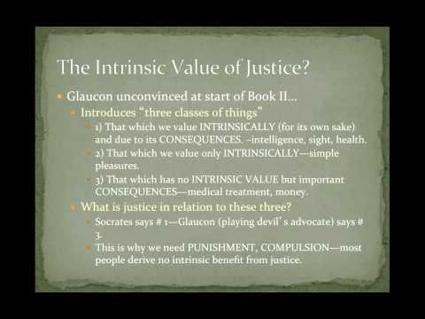 POS 201: Lecture 3-The Meaning of Justice, The Division of the Soul & Society