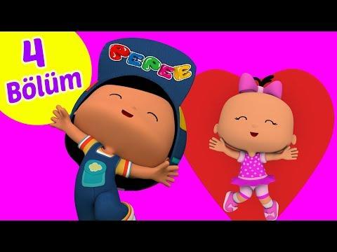 Pepee 4 Bölüm Bir Arada YENİ -   Pepe Eğitici Çizgi Film & Çocuk Şarkıları | Düşyeri