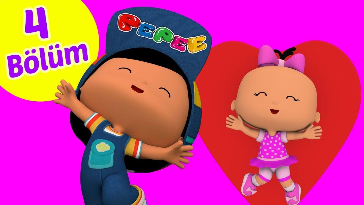 Download Pepee 4 Bölüm Bir Arada YENİ -   Pepe Eğitici Çizgi Film & Çocuk Şarkıları | Düşyeri