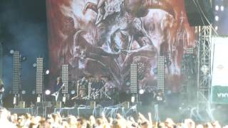 Kreator - Army of Storms / Enemy of God - live @ Greenfield Festival 2017, Interlaken 08.06.17