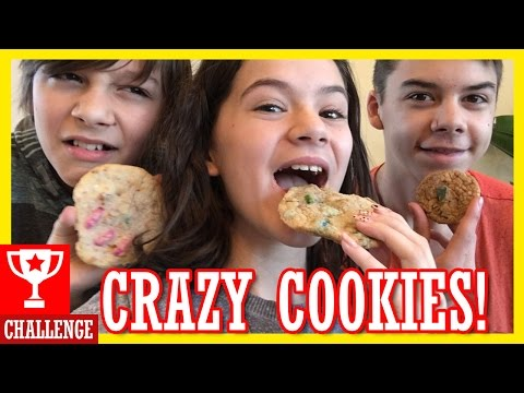 CRAZY COOKIE CHALLENGE!  |  KITTIESMAMA