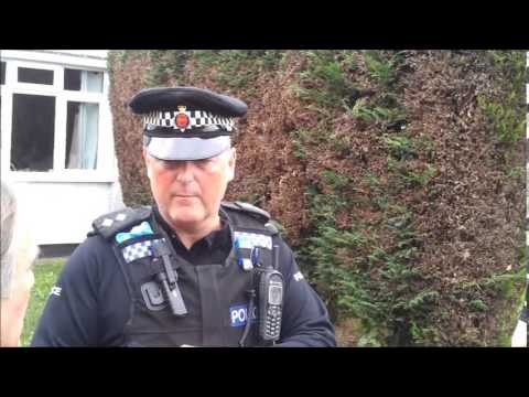 Crime against home owners Martin and Trish V Bailiff second visit 1.11.13
