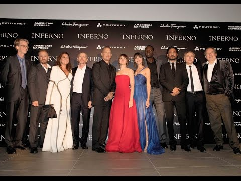 """Inferno"" Lights Up Florence With It's World Film Premiere"