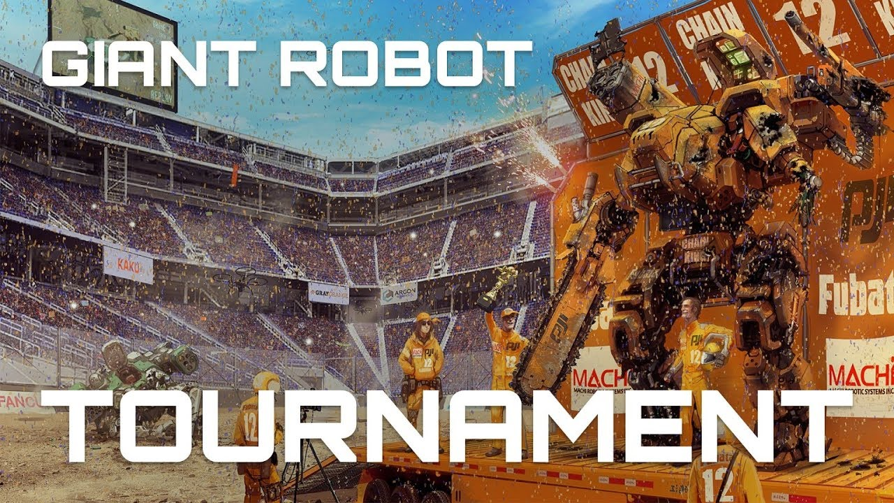 GIANT ROBOT TOURNAMENT KICKSTARTER