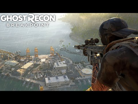 Ghost Recon Breakpoint THE UNSTOPPABLE SNIPER! Ghost Recon Breakpoint Free Roam