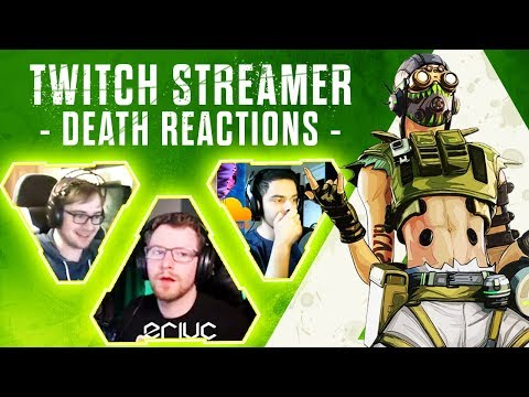 KILLING APEX TWITCH STREAMERS with REACTIONS! - Apex Legends Funny Rage Moments ep28