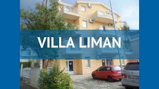 VILLA LIMAN 3* Черногория Будва обзор – отель ВИЛЛА ЛИМАН 3* Будва видео обзор
